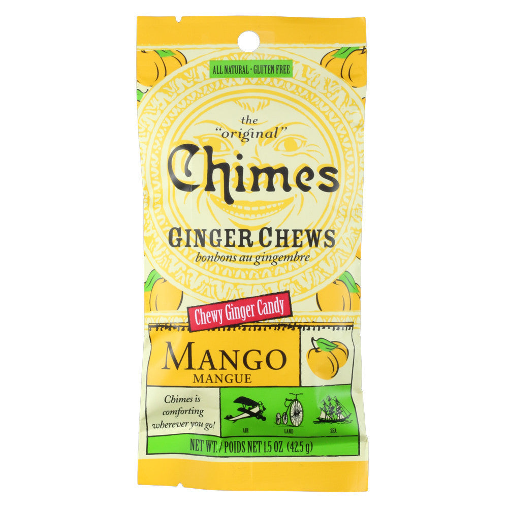 Chimes Ginger Mango Chews Pouch