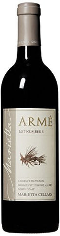 Marietta Arme Lot 3 Red Blend