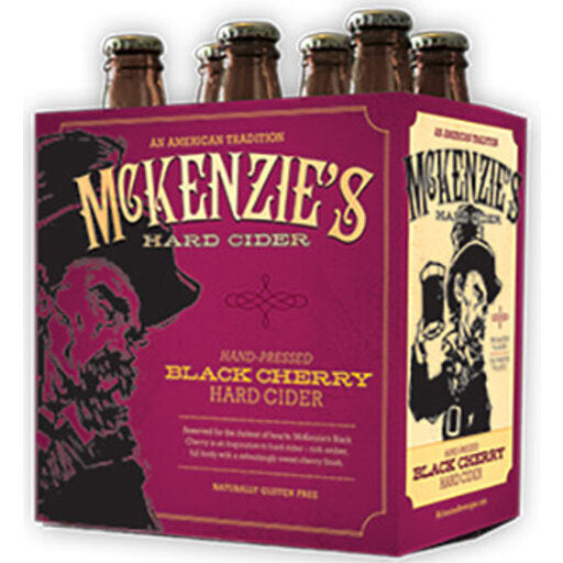 Mckenzies Black Cherry Cider 6Pk