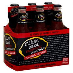 Mikes Raspberry Lemonade 6Pk