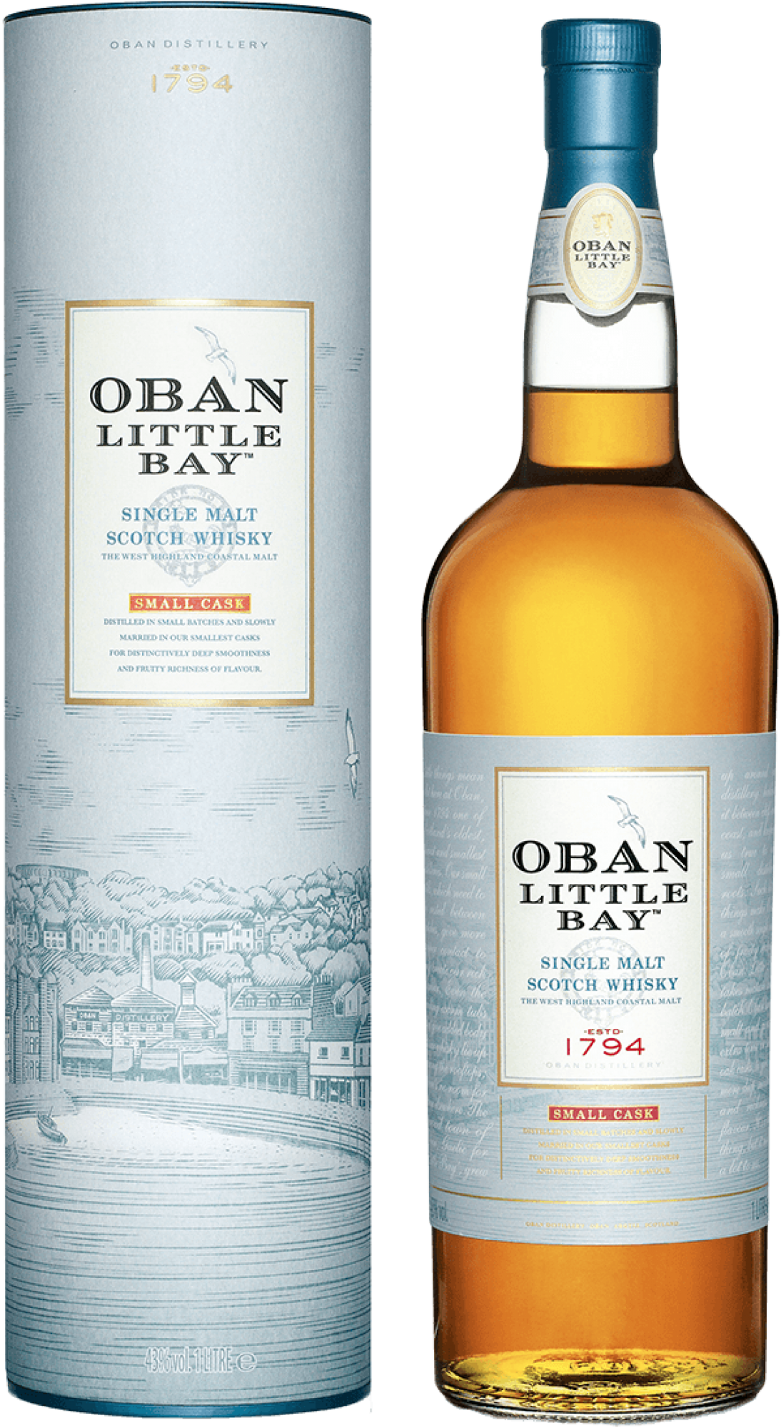 Oban Little Bay Scotch Whiskey