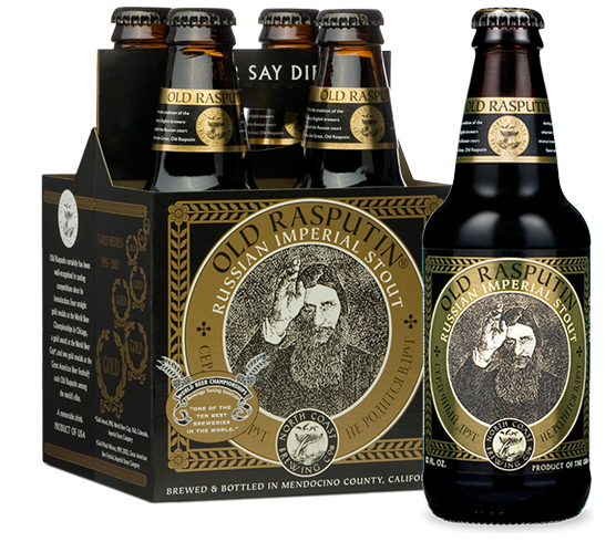 North Coast Old Rasputin Imperial Stout 4Pk