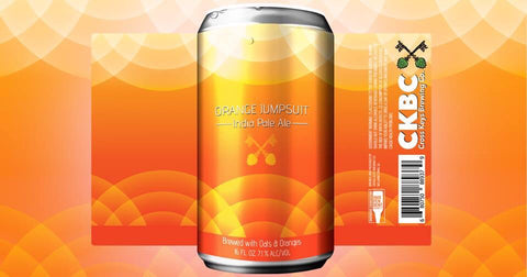 Cross Keys Brewing Orange Jumpsuit IPA 4pk 16oz Can
