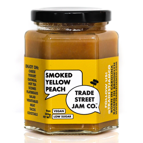 Trade Street Jam Co. Smoked Peach Jam