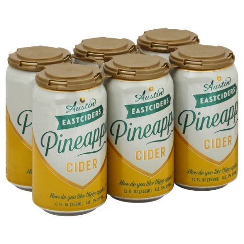 Austin Eastciders® Pineapple - 6pk