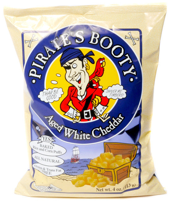 Pirates Booty Aged White Cheddar Popcorn
