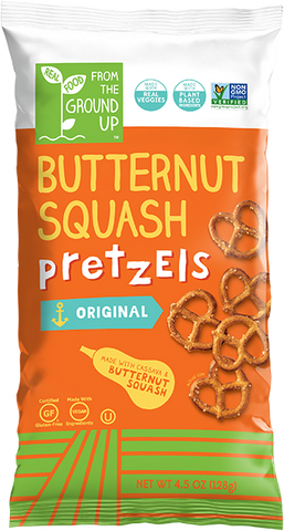 From The Ground Up Butternut Squash Pretzels