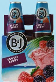 Bartles Jaymes Berry 4Pk