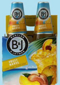 Bartles Jaymes Fuzzy Navel Fl 4Pk