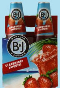 Bartles Jaymes Strawberry Diaq 4Pk