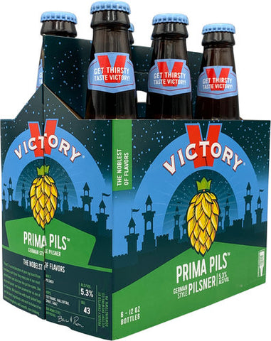 Victory Brewing Company Prima Pils Pilsner 6Pk