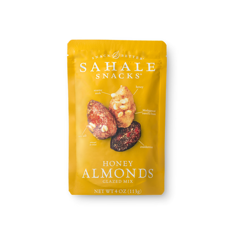 Sahale Snacks Honey Almonds Glazed Nut Mix, 4oz