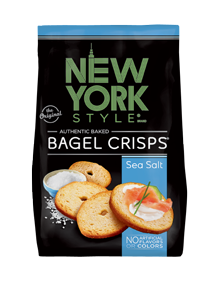 New York Style Sea Salt Bagel Crisps®