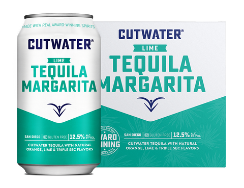 Cutwater MARGARITA Cocktail - 4pk Cans