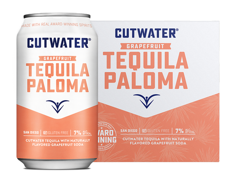 Cutwater Tequila Paloma Cocktail - 4pk Cans