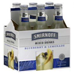 Smirnoff Ice Blueberry & Lemonade 6Pk