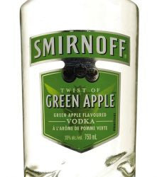Smirnoff Vodka Green Apple