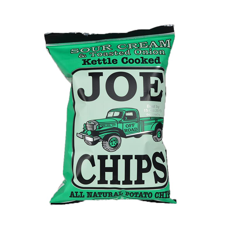 Joe Chips Sour Cream & Toasted Onion 2 Oz