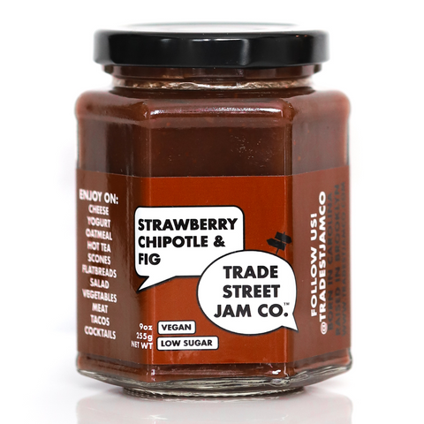 Trade Street Jam Co. Strawberry Chipotle + Fig Jam