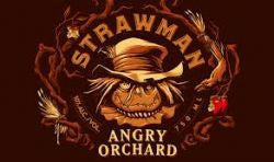 Angry Orchard Strawman Farmhouse Cider 750Ml