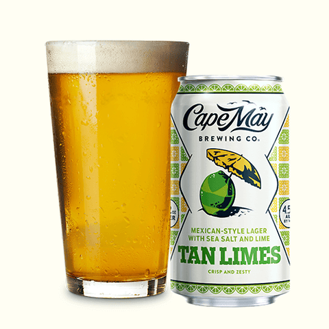Cape May Brewing Tan Limes 6pk Can