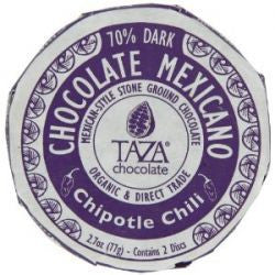 Taza Mexicano Dark Chocolate Chipotle Chili