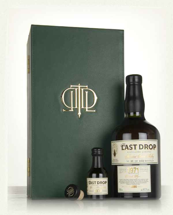 The Last Drop 1971 Triple Matured Blended Scotch Whiskey
