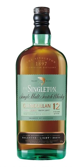 Singleton of Glendullan 12 Yr Single Malt Scotch Whisky