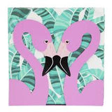 SunnyLife Tropical Flamingo Napkins and Holder