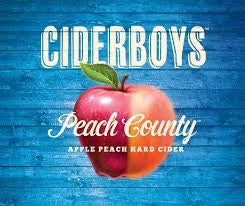 Cider Boys Peach County Apple Cider (6PK CAN)