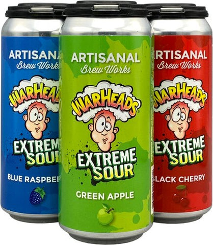 Artisanal Brew Works Warheads Variety 4pk Can