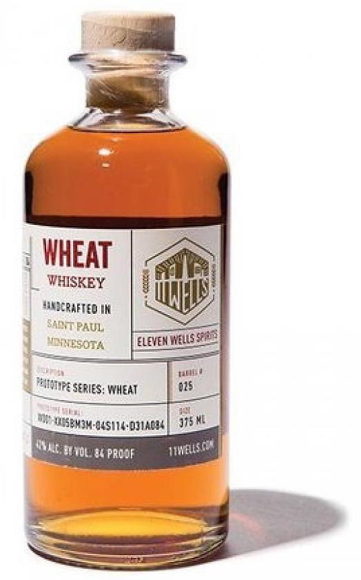 11 Wells Wheat Whiskey Prototype Series