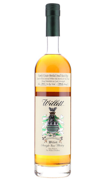 Willet Family 3yr Straight Rye Whiskey