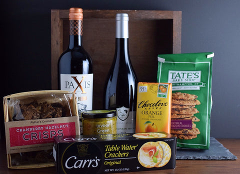 Wine & Food Gourmet Gift Basket