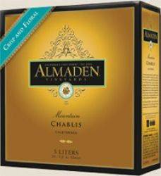 Almaden Mountain Chablis 5 Ltr Box