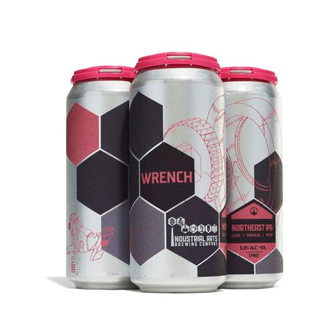 Industrial Arts Wrench NEIPA 4pk Cans