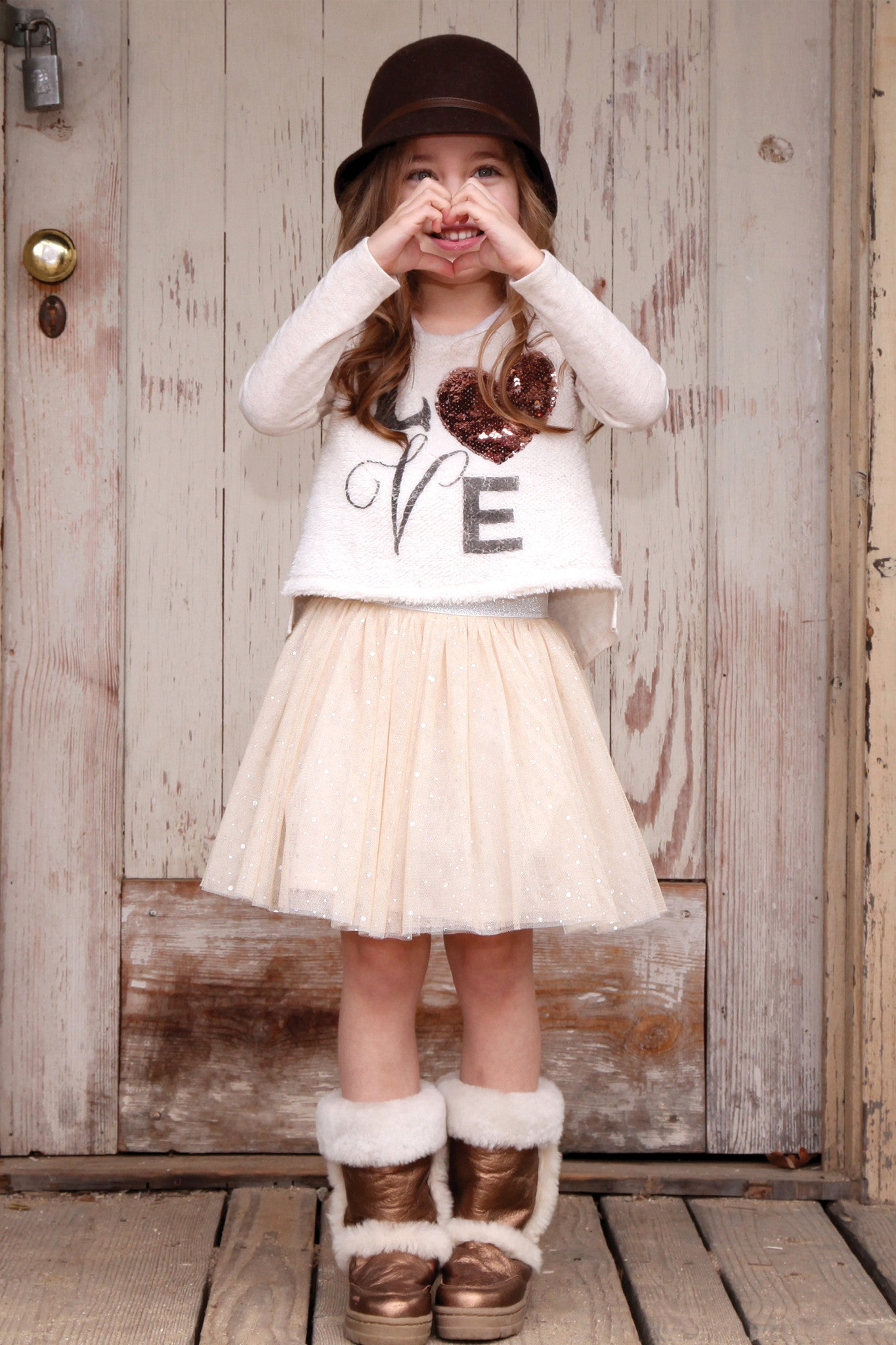 Sweet Love Sequin Sweater