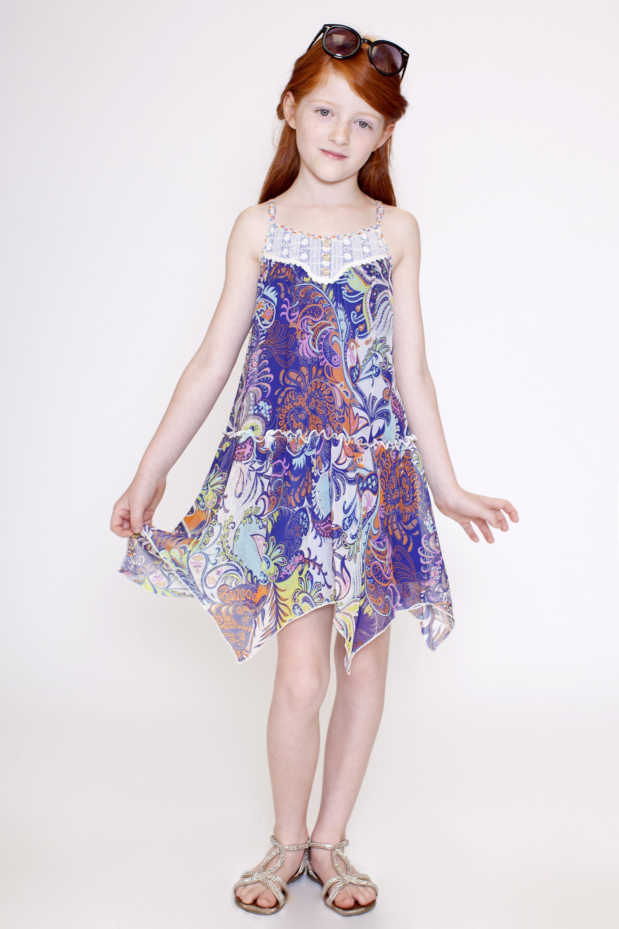 Paisley Dreams A-Line Dress