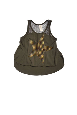 Star Studded Hi Low Tank Top