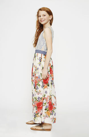 Day Dream Blooms Maxi Dress