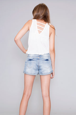 Sweet Flowing Trapeze Tank Top