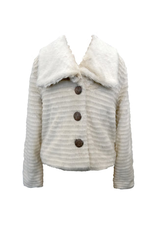 Luxury Soft Faux Fur Jacket