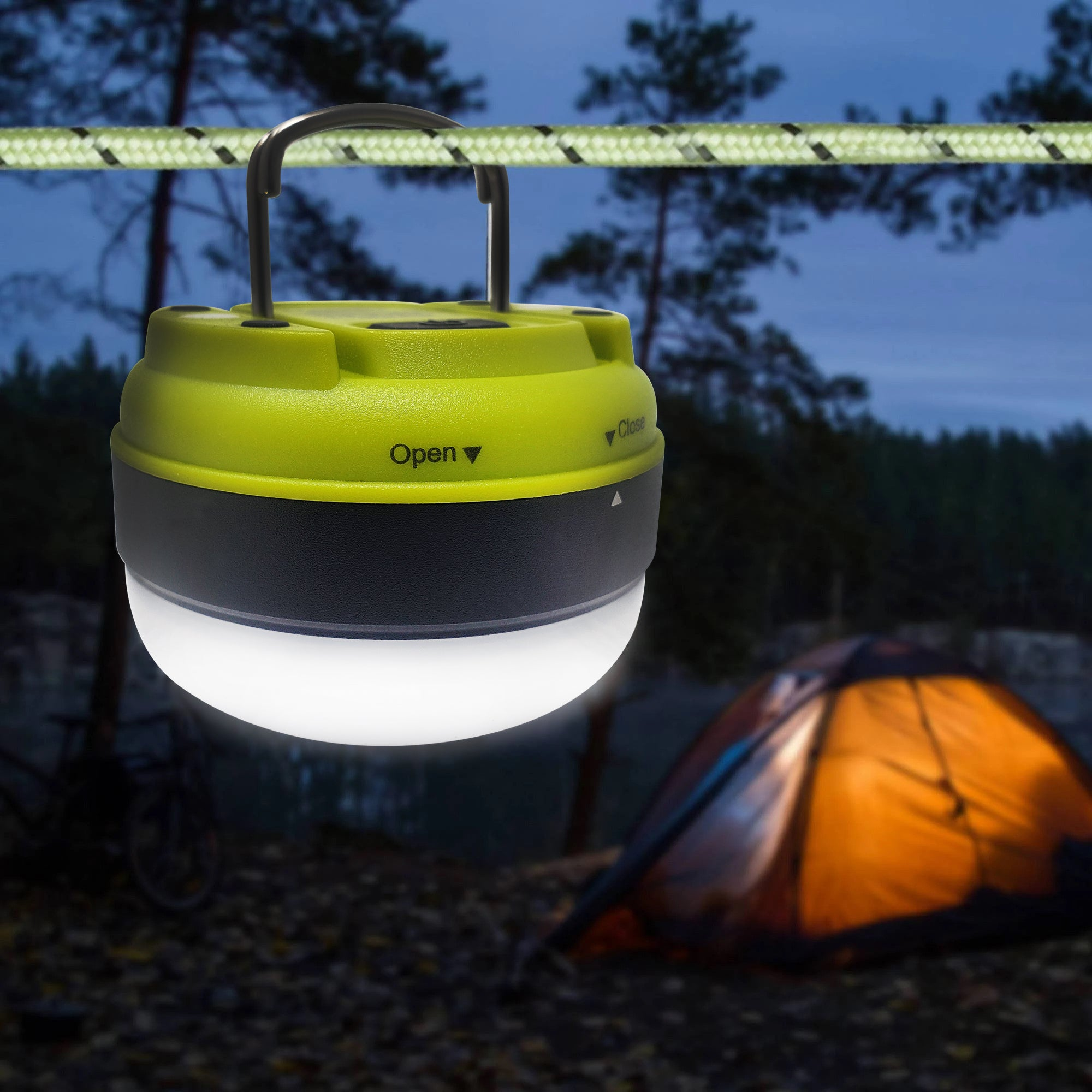FCL610 PUCK LED Camping Lantern - 2-Pack Set