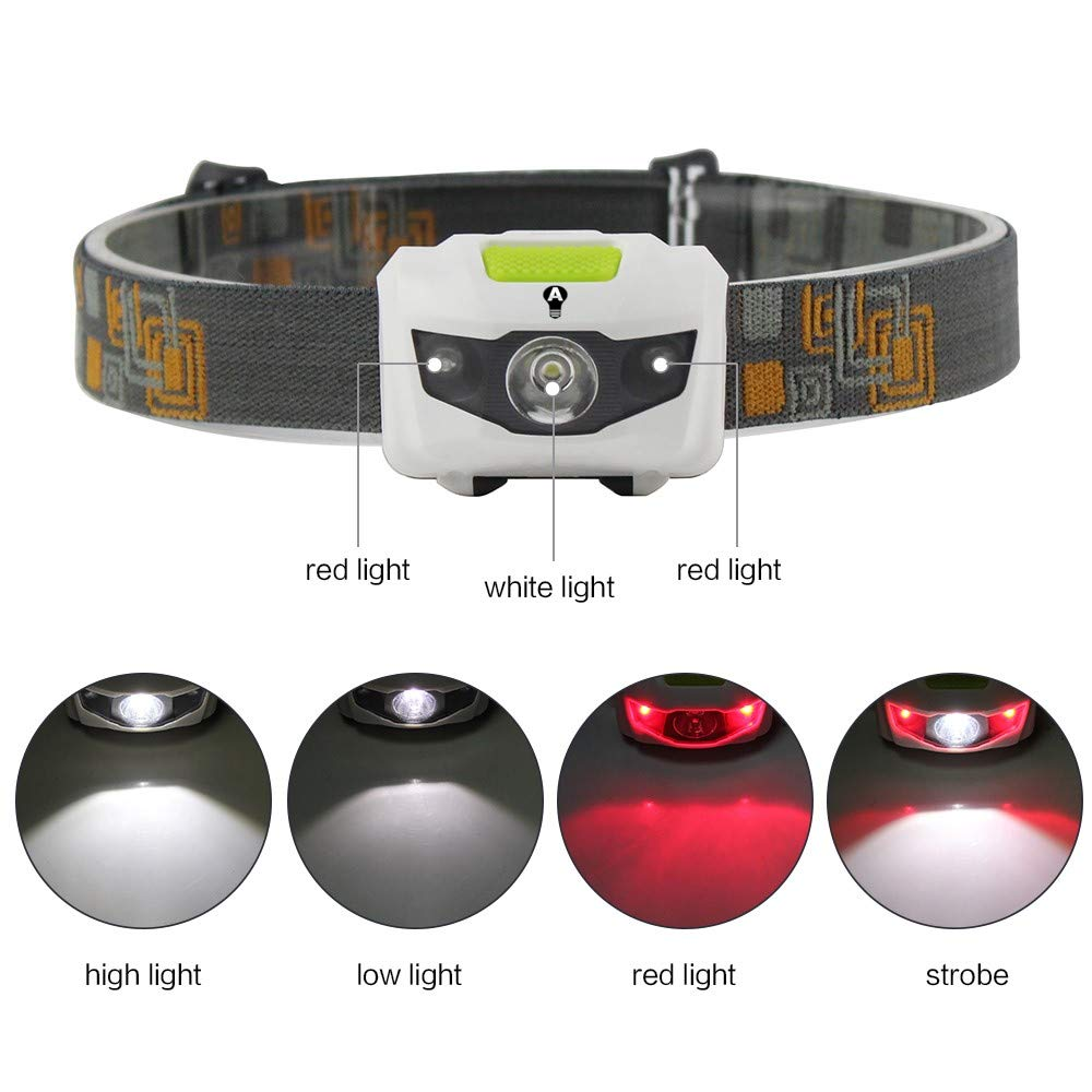 Bengal Headlamp with Red Led Light - alltrolite