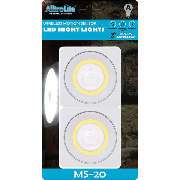 MS20 Motion Sensor Light | Under Cabinet Lighting | 2-Pack - alltrolite