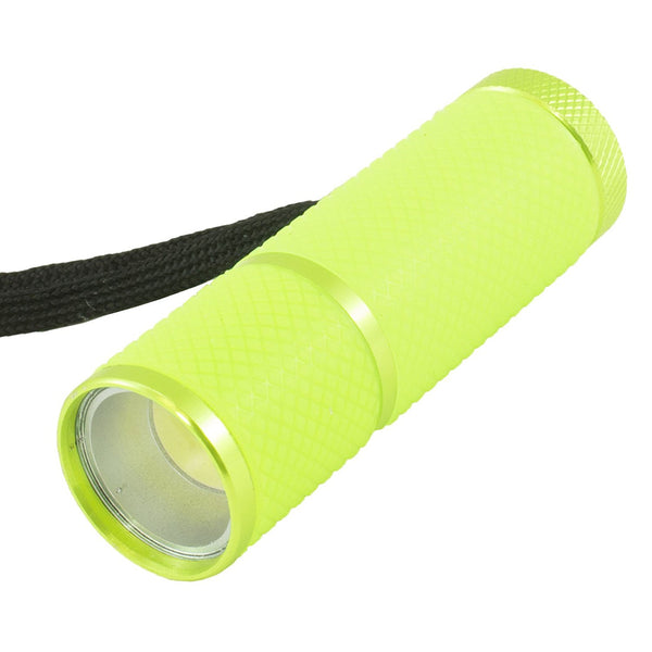 Glow In The Dark COB LED Flashlight