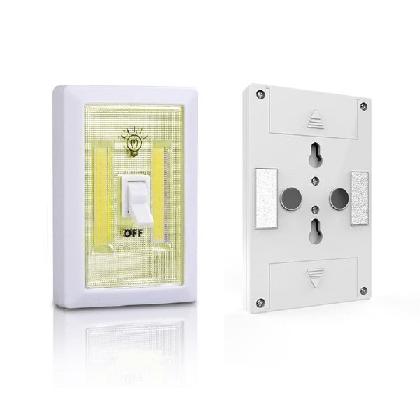 Glow In The Dark COB LED Cordless Light Switch