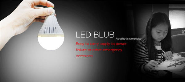 AlltroLite® E27 12W LED Emergency Rechargeable Light Bulb - alltrolite