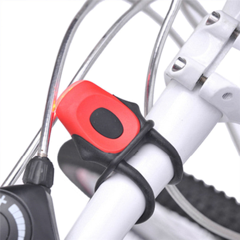Bicycle Light Front and Rear Silicone LED Bike Light Set - alltrolite