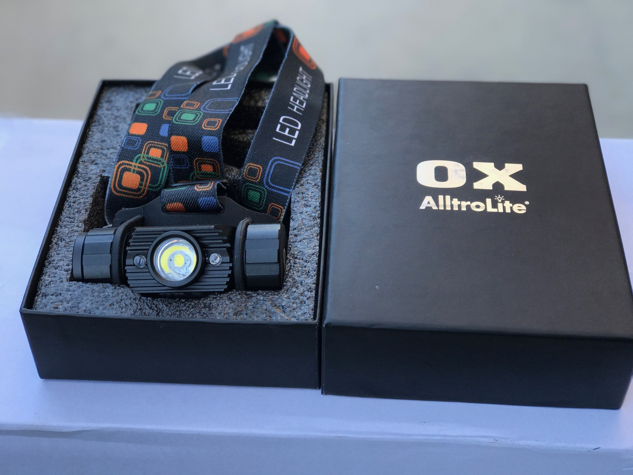 OX Tactical Headlamp - alltrolite